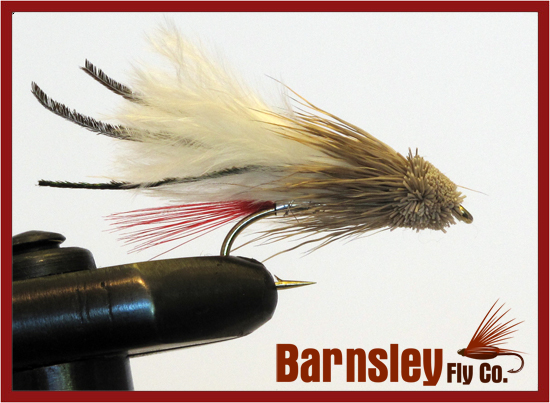 Marabou Muddler White Streamer Fly