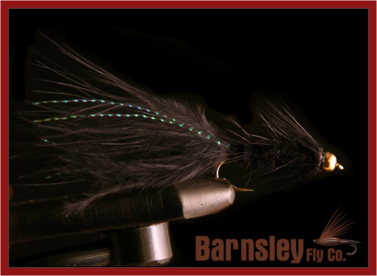 Wooly Bugger Black Streamer Fly