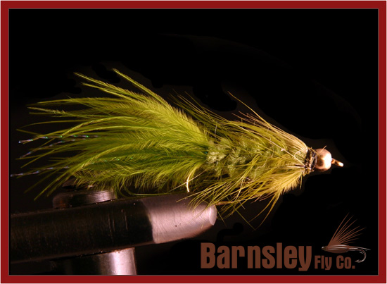 Wooly Bugger Olive - Size 8